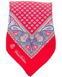 Brooks Brothers - Silk Paisley Print Handkerchief - Lyst