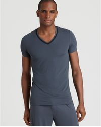 Calvin Klein Loungewear Vneck Tee - Lyst