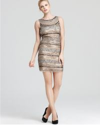 Aidan Mattox Sequin Dress - Lyst