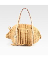 Kate Spade Armadillo Top Handle Bag - Lyst