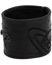 Vivienne Westwood Leather Cuff Bracelet - Lyst