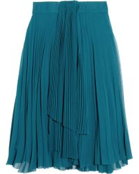 Willow - Pleated Chiffon Skirt - Lyst