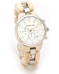 Michael Kors Showstopper Chronograph Watch - Lyst