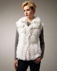 Tasha Tarno - Feathered Fox Vest - Lyst