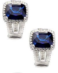 Judith Ripka - Roma Corundum Earrings - Lyst