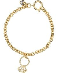 Juicy Couture - Engagement Ring Wish Bracelet - Lyst
