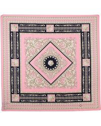 Versace Foulard Square Scarf Light Pink - Lyst