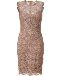 Emilio Pucci Pearl Lace Dress - Lyst