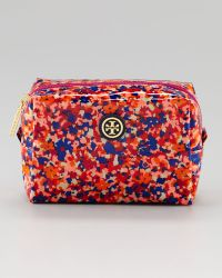 Tory Burch Brigitte Floralprint Cosmetic Case - Lyst
