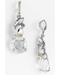 Givenchy Mojave Crystal Drop Earrings - Lyst