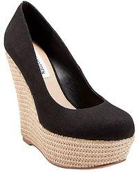 Steve Madden Pamelaaa Wedge Shoes - Lyst