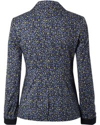 NW3 by Hobbs - Nw3 Ditzy Floral Cotton Blazer Multi - Lyst