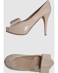 Furla Pumps with Open Toe - Lyst