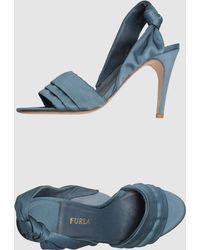 Furla Highheeled Sandals - Lyst