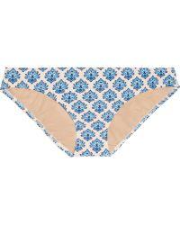 J.Crew - Emblem Printed Bikini Briefs - Lyst