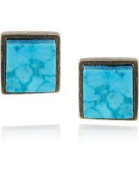 Kelly Wearstler - Turquoise Stud Earrings - Lyst