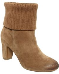 Kenneth Cole Reaction Look At You Booties - Lyst