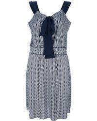 Tory Burch Sleeveless Dress - Lyst