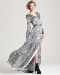 Rachel Zoe Gown Beau Ruffle Shirt - Lyst