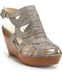 Rebecca Minkoff Wedges Interlock - Lyst
