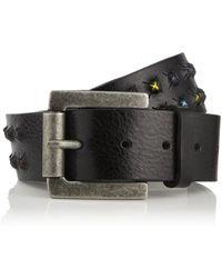 John Galliano - Studded Leather Belt - Lyst