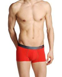 Calvin Klein Red Boxer - Lyst
