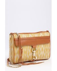 Rebecca Minkoff Mac Ikat Print Shoulder Bag - Lyst