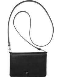 Etienne Aigner - Classics Triple Zip Wallet On A String - Lyst