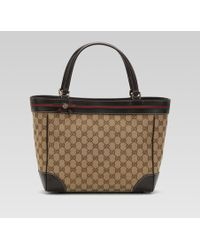 Gucci - Mayfair Bow Detail Tote - Lyst