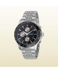 Gucci G-timeless Extra Large Stainless Steel Watch - Lyst