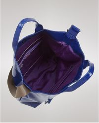 Echo - Soft Patent Northsouth Tote - Lyst