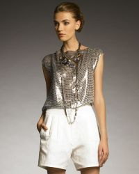 Lanvin Sequined Top - Lyst