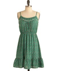 ModCloth You Look Hoot Dress - Lyst