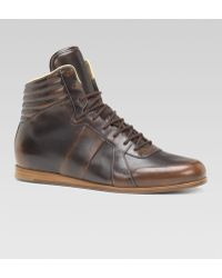 Gucci Aldous Sporting Laceup Boot - Lyst