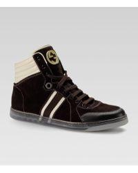 Gucci Coda Hi-top Sneaker - Lyst