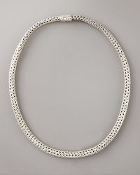 John Hardy Small Classic Chain Necklace with Chain Clasp - Lyst