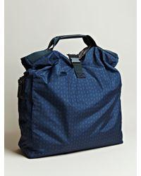 Lanvin - Lanvin Mens Oversized Printed Messenger Bag - Lyst