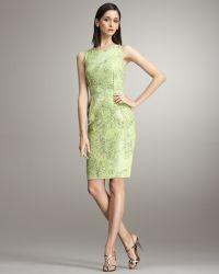 Peter Som - Lace Tank Dress - Lyst