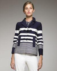 Philosophy di Alberta Ferretti - Striped Jacket - Lyst