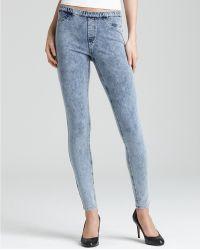 Ash - Hue Stone Washed Jeans Legging - Lyst