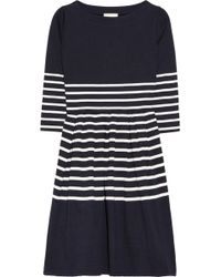 Boy by Band of Outsiders - Striped Cotton Jersey Dress - Lyst