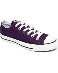Converse Womens Chuck Taylor All Star Low Top Sneakers - Lyst