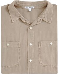 James Perse Work Shirt - Lyst