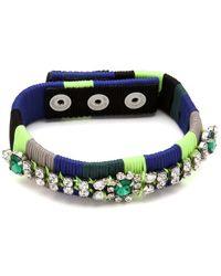 Juicy Couture - Colorblock Thread Bracelet - Lyst