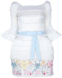 Meadham Kirchhoff Molly Ghazar Dress white - Lyst