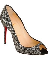 Christian Louboutin Sexy Strass Pumps black - Lyst