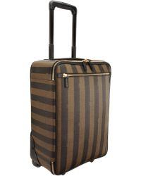 Fendi - Pequin Stripe Trolley - Lyst