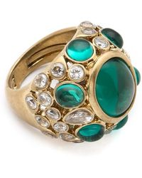 Juicy Couture - Jeweled Cocktail Ring - Lyst