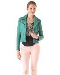Kelly Wearstler - Leather Moto Jacket - Lyst