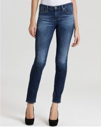 Ash   Ag Adriano Goldschmied Jeans The Prima Mid Rise Cigarette in 11 Years Slate Wash   Lyst